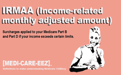 Income Related Monthly Adjusted Amount (IRMAA) | Medi-care-eez