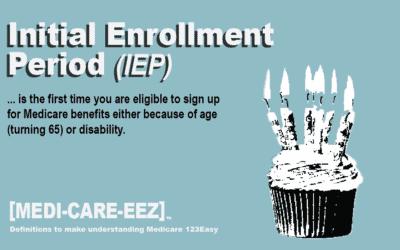 Initial Enrollment Period (IEP) | Medi-care-eez
