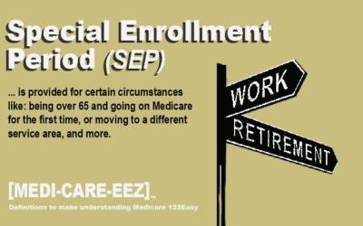 Special Enrollment Period (SEP) | Medi-care-eez