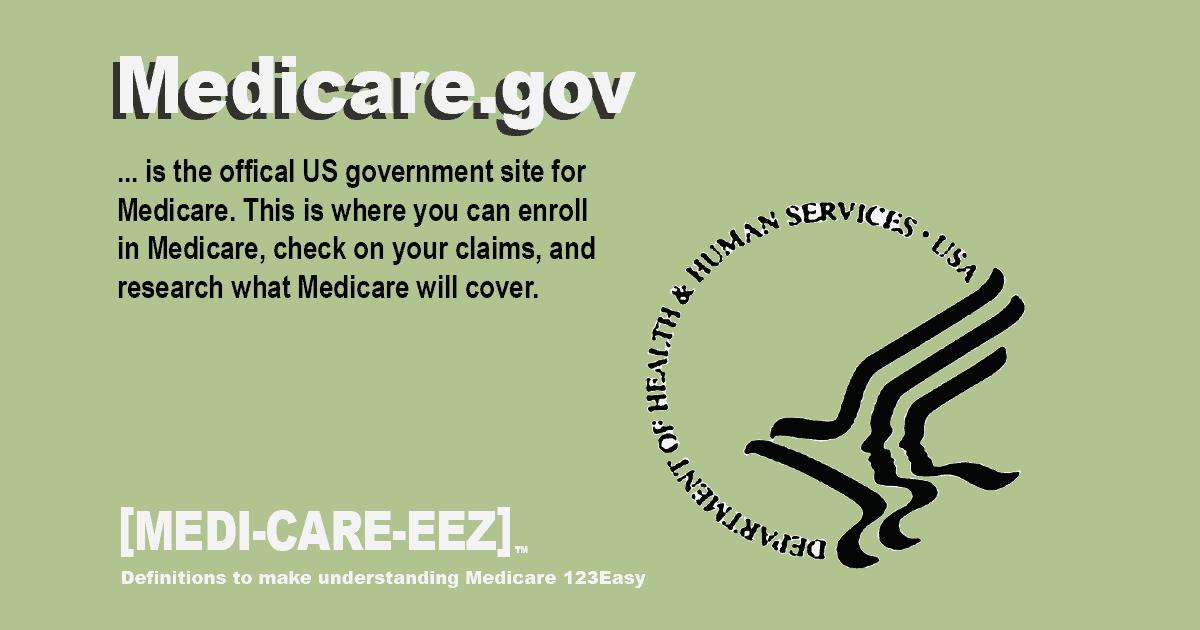 Medicare.gov Medicareeez thumbnail