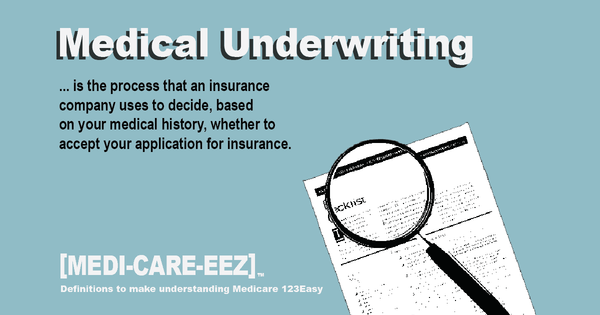 Medical Underwriting Medicareeez thumbnail
