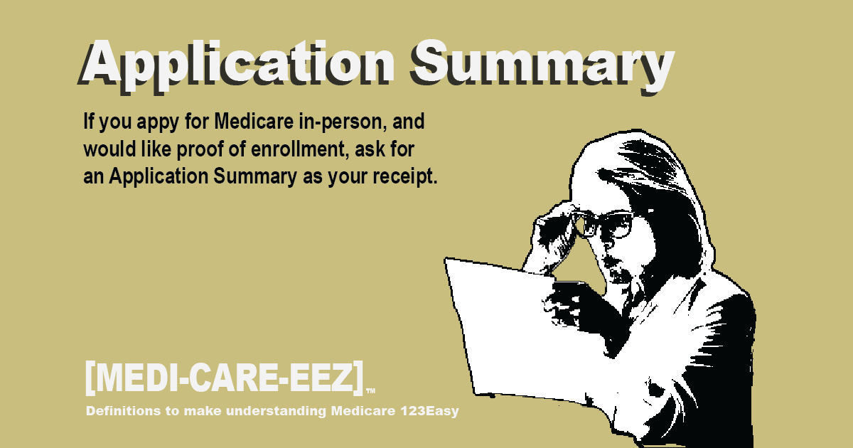 Application Summary Medicareeez thumbnail