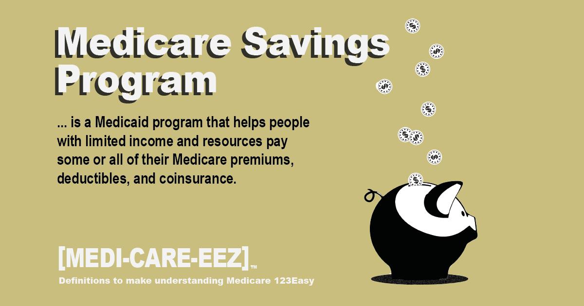 Medicare Savings Program Medicareeez thumbnail