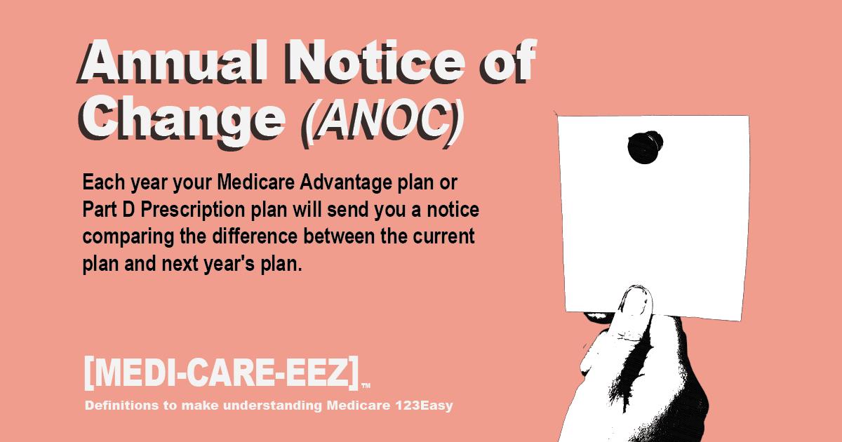 Annual Notice of Change  Medicareeez thumbnail