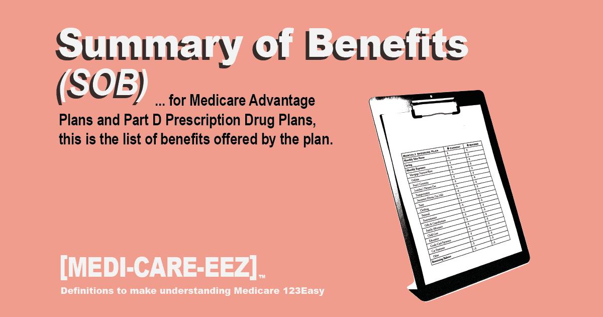 Summary of Benefits Medicareeez thumbnail