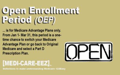 Open Enrollment Period | Medi-care-eez